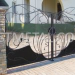 Кованые ворота и калитки