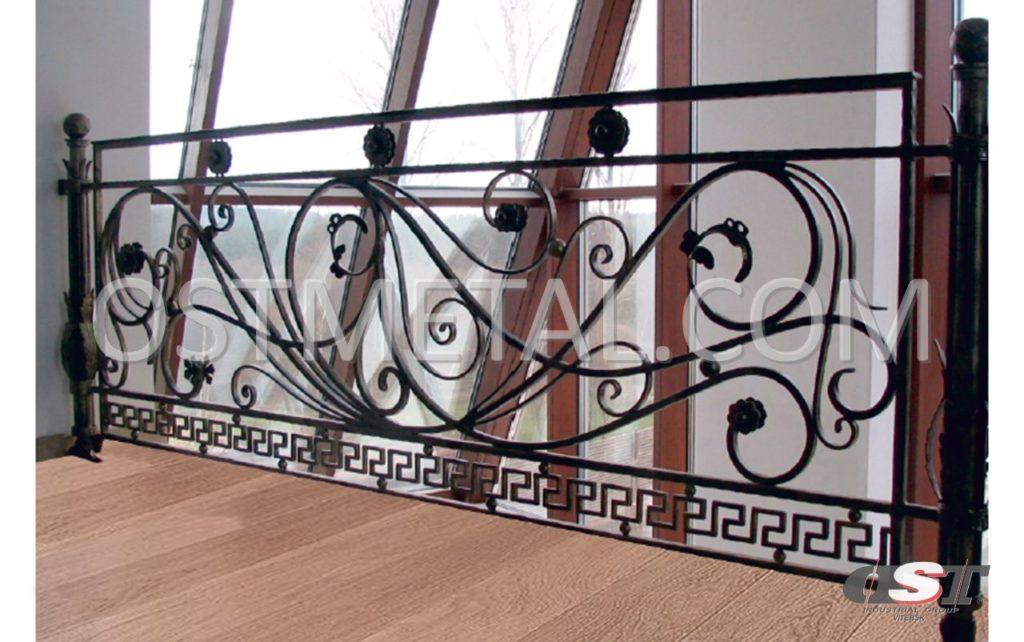 Кованое балконное ограждение - респект.